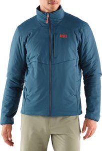 This image shows the men's mineral water color of the REI Activator SI Jacket.