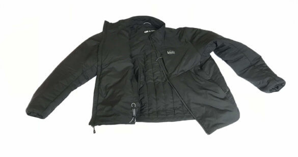 This image shows the men's black REI Co-op Activator SI Jacket.