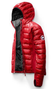 This best down jackets photo shows the Canada Goose Hybride Lite Down Jacket in the men's red version.
