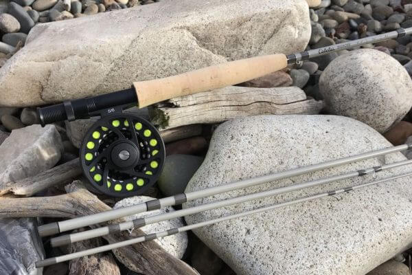 This photo shows the Cabela's Bighorn Fly Combo.