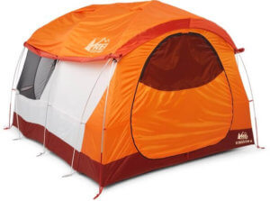 This photo shows the 2019 REI Co-op Kingdom 6 camping tent.