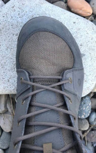This photo shows the toe box on the Redington Prowler Wading Boots.