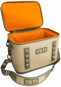 This soft-sided cooler photo shows the YETI Hopper Flip 18 soft cooler.