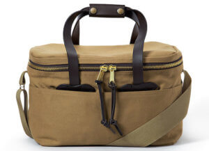 This cooler photo shows the Filson Twill Soft-Sided Cooler.