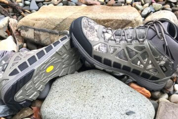 This photo shows a pair of men's Cabela's Instinct Pursuitz Hunting Boots.