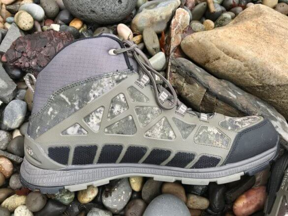 This photo shows the side of the Cabela's Instinct Pursuitz men's hunting boot.
