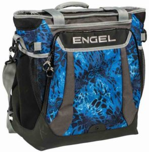 This photo shows the Engel Backpack Cooler.