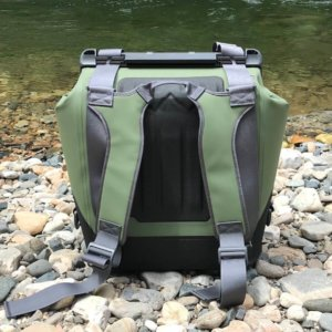 This photo shows the OtterBox Trooper LT 30 backpack cooler.