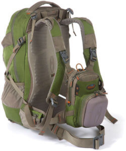 This photo shows the Fishpond Bitch Creek Tech Pack fishing backpack.