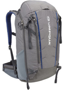 This photo shows the Umpqua Surveyor 2000 ZS Fishing Backpack.