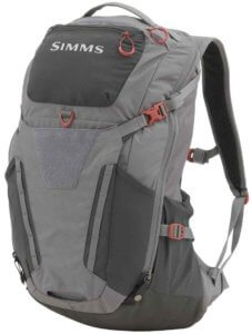 This photo shows the Simms Freestone Fishing Backpack.