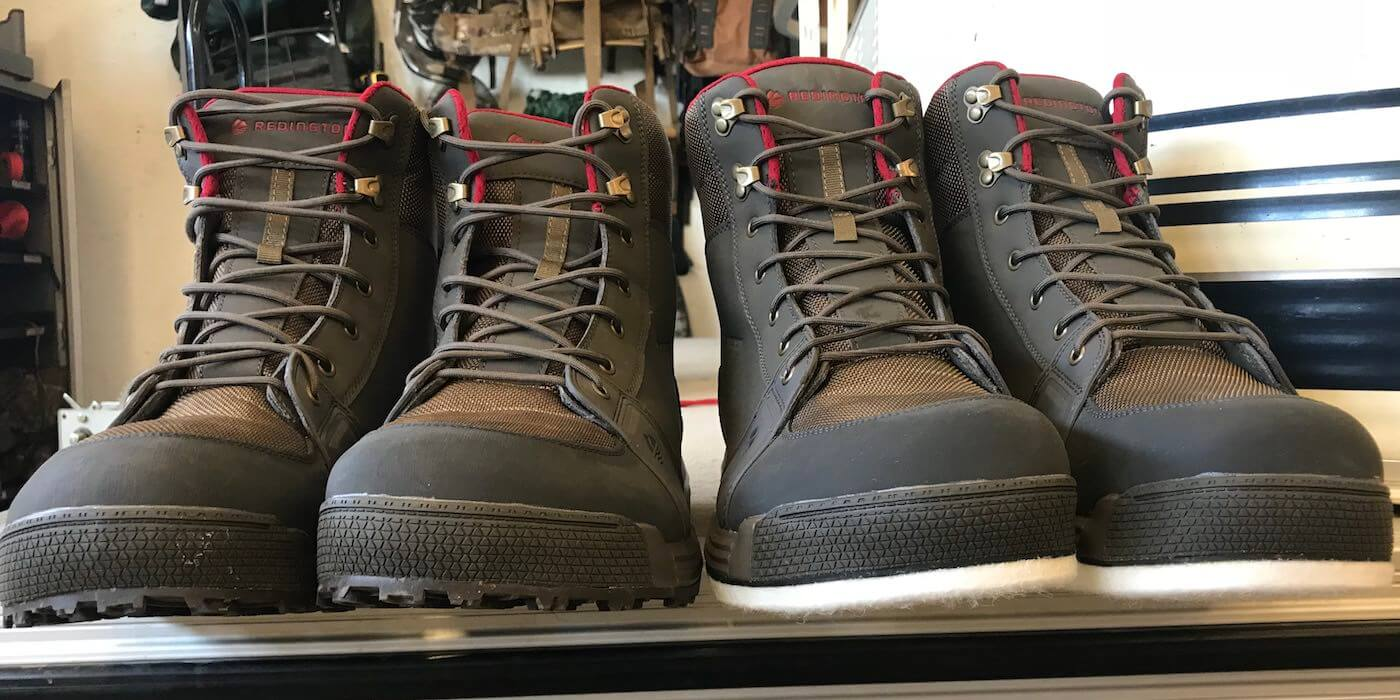 Sticky Rubber Redington Crosswater Youth Boot