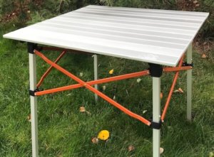 This camping gear gift photo shows the REI Co-op Camp Roll Table.