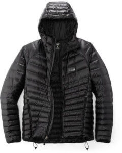 This best down jacket shows the REI Co-op Magma 850 Down Hoodie down jacket.