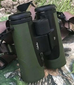 This photo shows the Cabela's Instinct HD 10X42 Binocular.