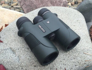 This photo shows the Vortex Diamondback 10x42 binocular.