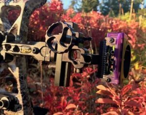 This best bow hunting gift photo shows the Black Gold Ascent Verdict Sight.