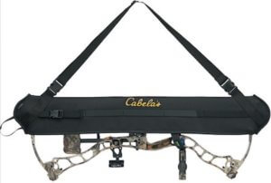 This bowhunting gift photo shows the Cabela's Bow Carrier Sling.