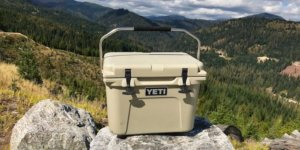 This image shows the YETI Roadie 20 cooler.