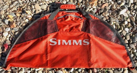 This photo shows the Simms Taco Wader Bag.