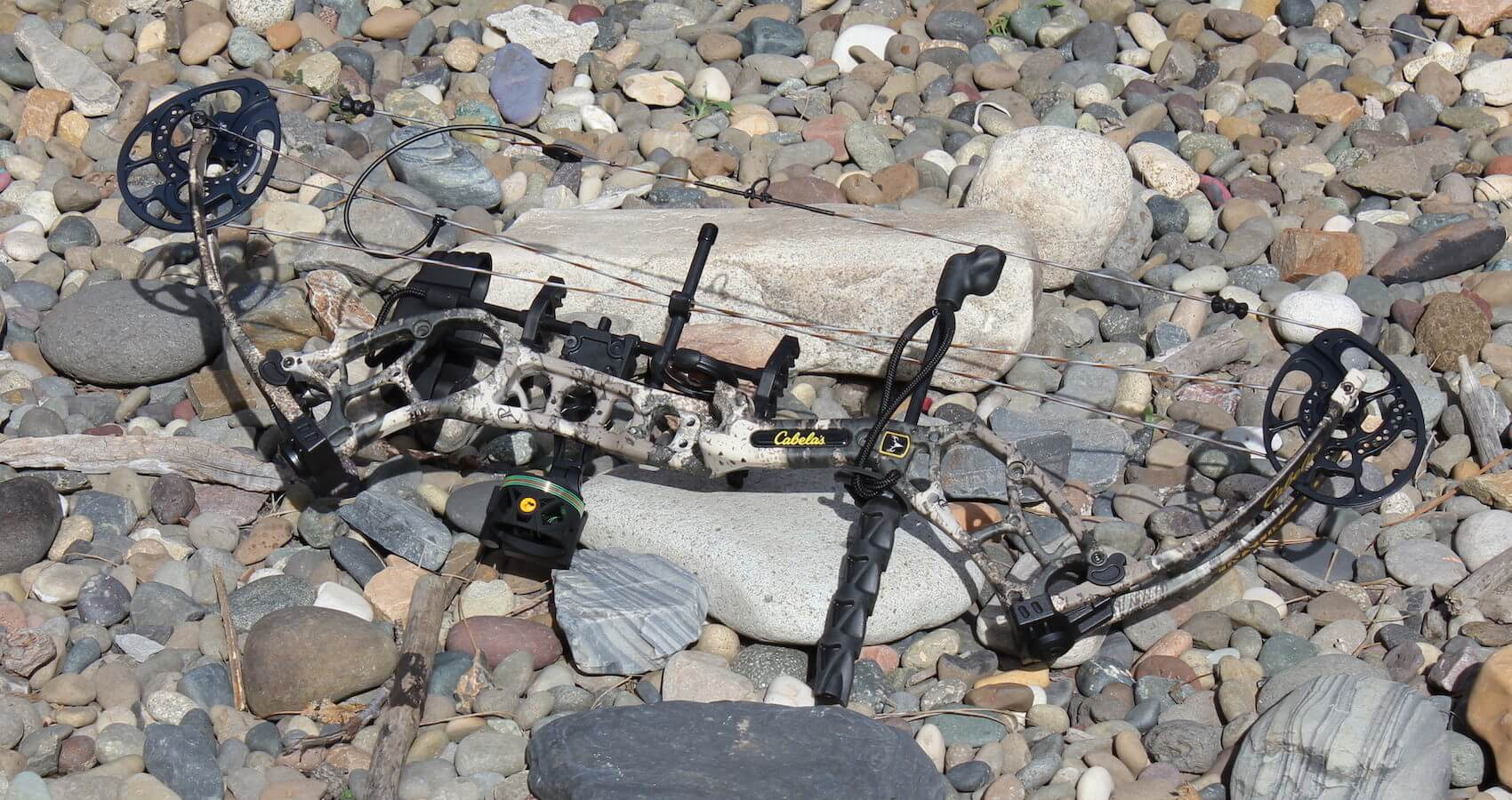 This photo shows the Cabela's Insurgent HC RTH Compound Bow.