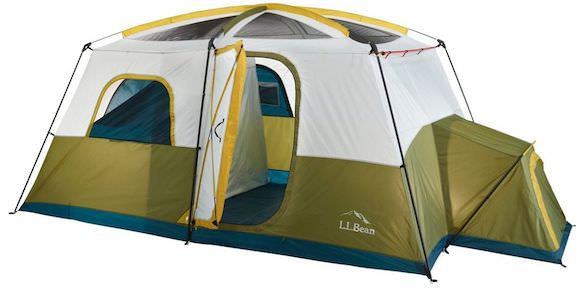07aa5b357458 This camping tent photo shows the L.L.Bean Acadia 8-Person Cabin Tent.