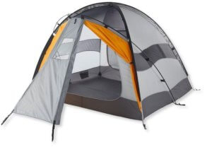 This camping tent photo shows the L.L.Bean Vector XL 4-Person Tent.