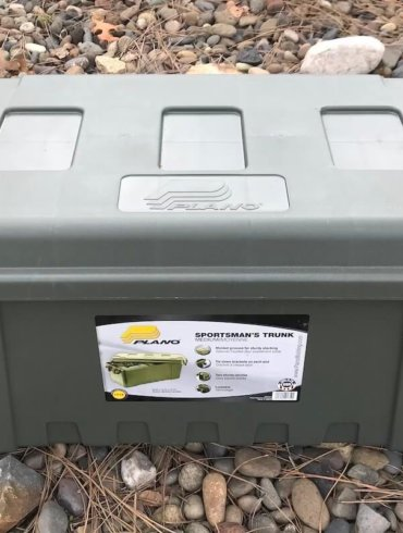This photo shows the Plano Sportsman's Trunk medium.