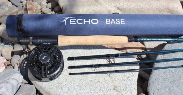 This photo shows the Echo Base Fly Rod Kit.