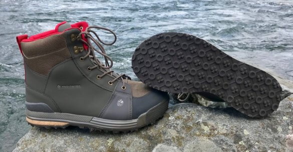 This best wading boot photo shows the Redington Prowler Wading Boots.