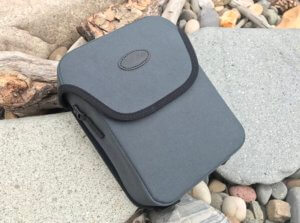 This photo shows the binocular case that's included with the Cabela's Instinct Euro HD binoculars.