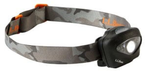 This hunting headlamp photo shows the L.L.Bean Trailblazer Sportsman 420 Headlamp.