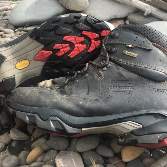 This photo shows the Zamberlan 996 VIOZ GTX boots
