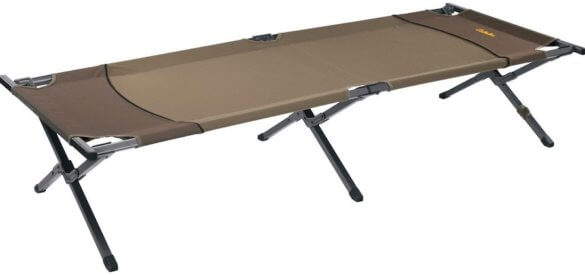 This photo shows the Cabela's Camp Cot - Brown.