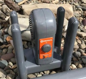 This hunting gift guide photo shows the DryGuy Force DX Boot Dryer product.
