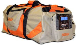 This hunting gift idea photo shows the Scent Crusher Ozone Gear Bag.