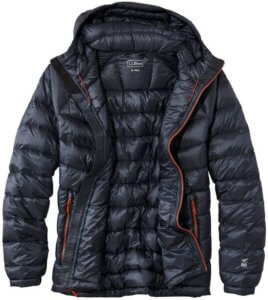 This down jacket buying guide product photo shows the L.L.Bean Ultralight 850 Down Jacket.
