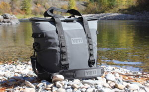 This photo shows the YETI Hopper M30 Cooler.