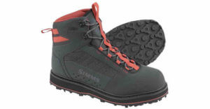 This fishing gift idea photo shows the Simms Tributary Wading Boots.