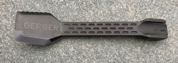 This photo shows the spatula side of the Gerber ComplEAT.