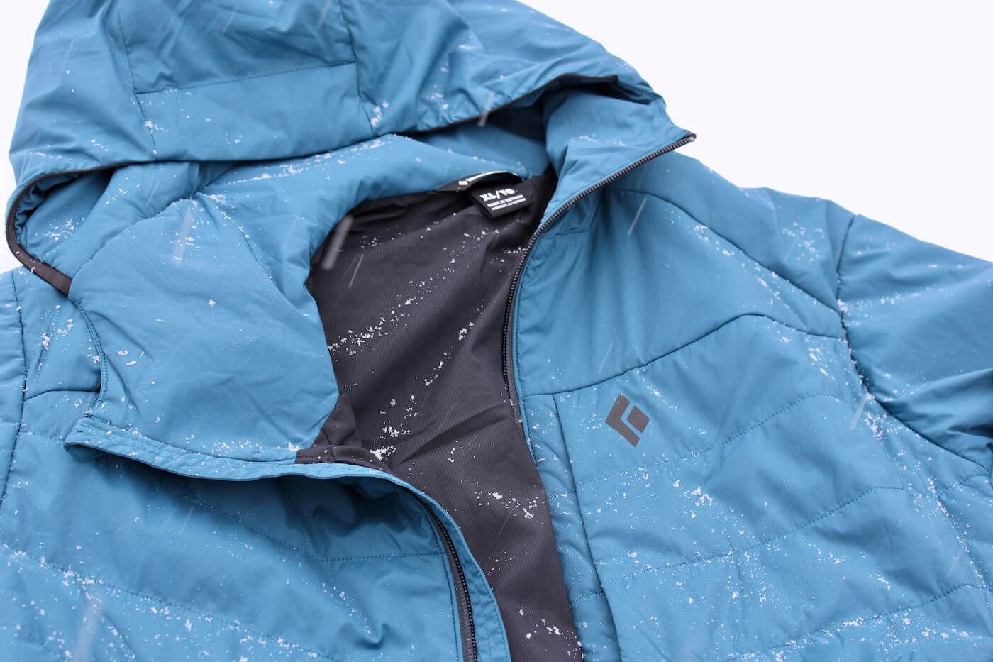 This photo shows the Black Diamond First Light Stretch Hoody.