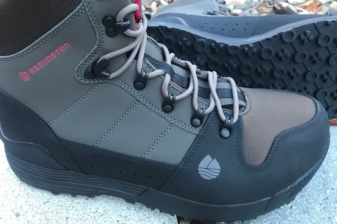 This photo shows the Redington PROWLER-PRO wading boots.