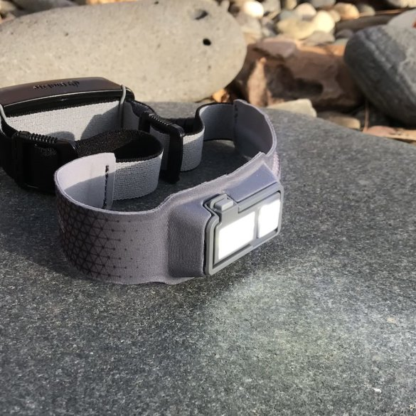 This photo shows the BioLite HeadLamp 330.