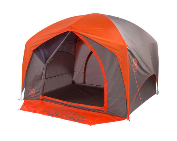 This best camping tents photo shows the Big Agnes Bunkhouse 4 Tent.