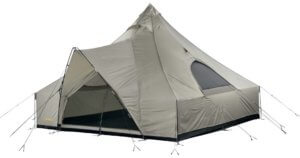 This tent photo shows the Cabela's Outback Lodge 8-Person Tent.