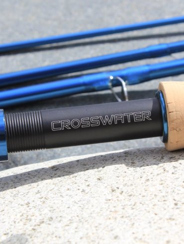 This review photo shows a close-up of the Redington Crosswater Fly Rod.