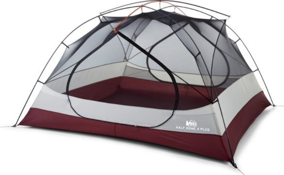 This tent photo shows The REI Co-op Half Dome 4 Plus Tent.