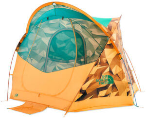 This best camping tents photo shows the The North Face Homestead Super Dome 4 Tent.