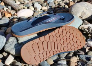 This photo shows the Chacos Lowdown Flip flip flops.