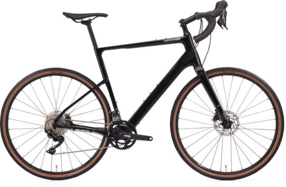 This photo shows the Cannondale Topstone Carbon 105 gravel bike.
